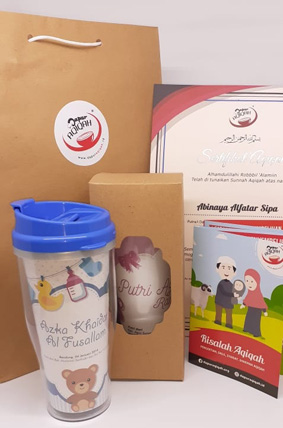 paket aqiqah bandung souvenir tumbler