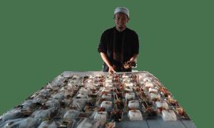 Persiapan Catering Nasi Dus Dapur Aqiqah Bandung