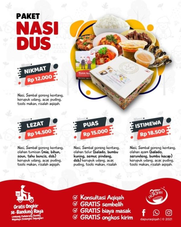 harga paket aqiqah bandung catering aqiqah nasi dus murah