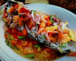 Resep Ikan Kembung Bakar Dabu-Dabu