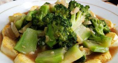 Resep Sayur Brokoli Tumis Tahu