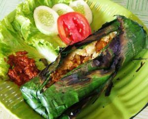 Resep Nasi Bakar Ikan Tongkol Kemangi