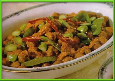 Resep Ketupat Komplit Lebaran sambal goreng cincang