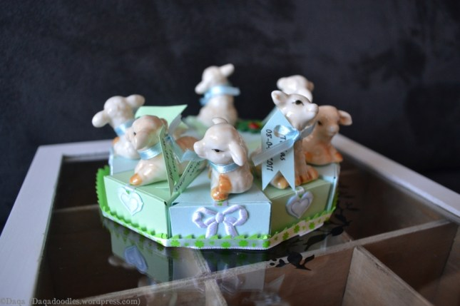 Geboortebedankjes taart