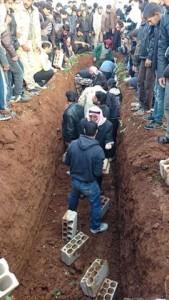 دفن المزيريب