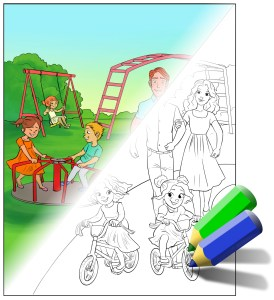 color-in-park