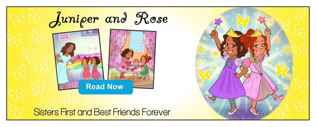 Juniper and Rose Book One Ad