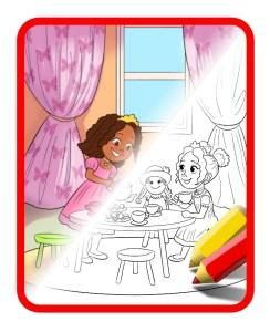 tea-party-coloring-icon