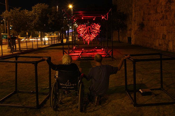 Salford Quays Light Art