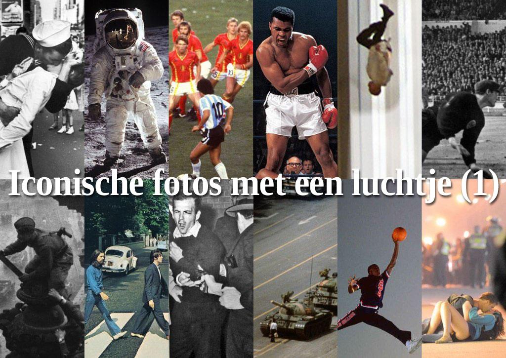 Niets Is Wat 't Lijkt – Iconische Foto's Met Een Luchtje (deel 1)