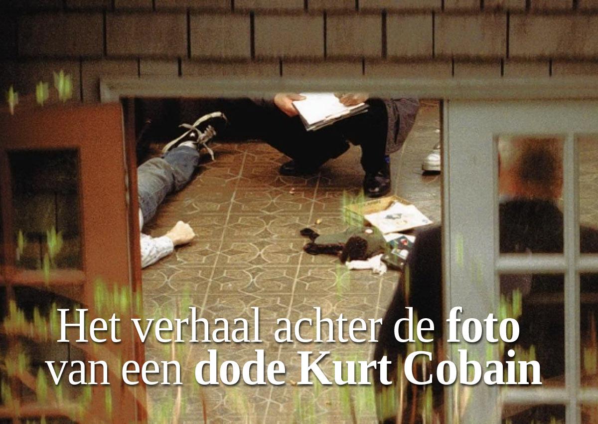 Het Verhaal Achter Die Controversiële Foto Van Kurt Cobain