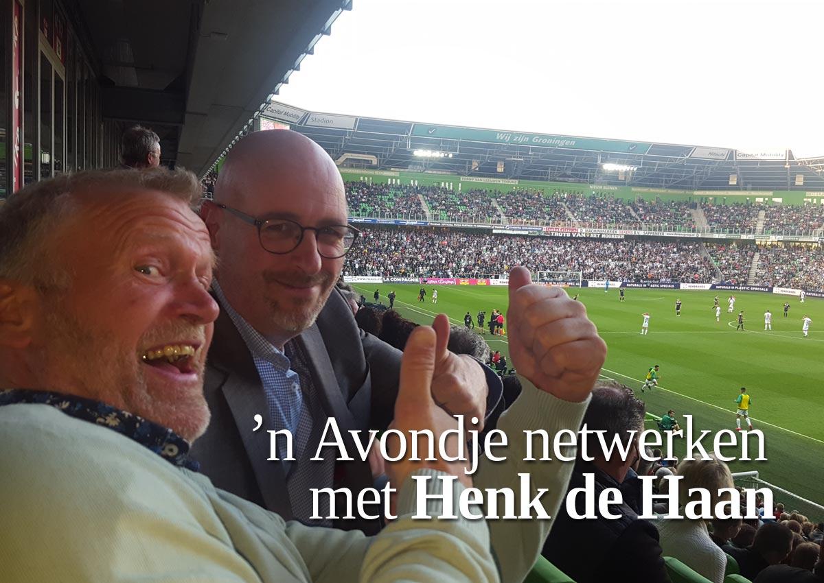 'n Avondje Netwerken Met Henk De Haan