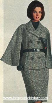cape jacket suit