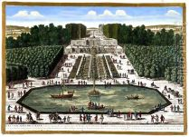 The Cascades at Sceaux France in 1680
