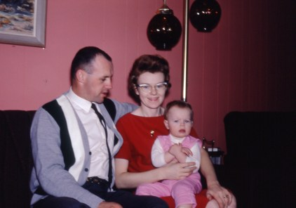 Me with my parents at Port Coquitlam