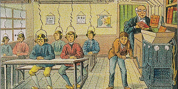 the future of education, ca 1910