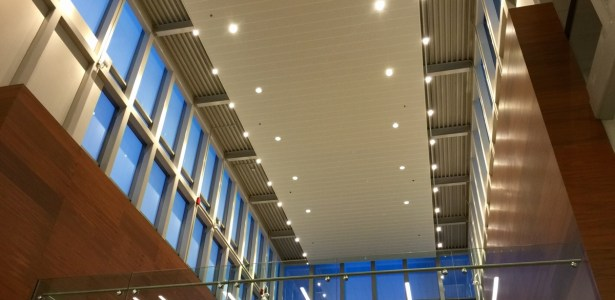 TI atrium lights