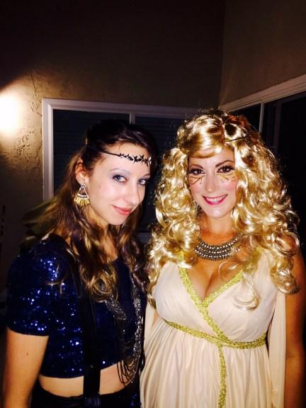 Fortune Teller & Goddess