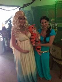 hera, princess jasmine, rajah costume-Darcy Oliver Design