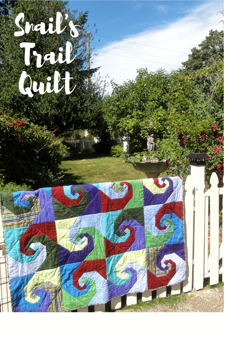 How To Make A Snail S Trail Quilt Block Darcy Quilts