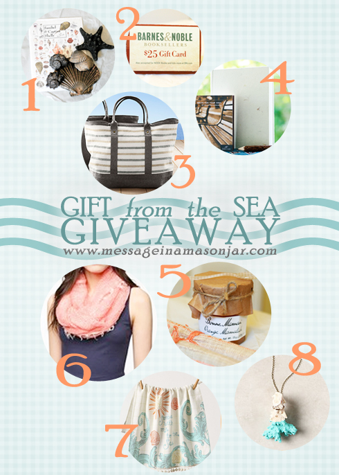 Souvenirs from the Sea {A Giveaway!}