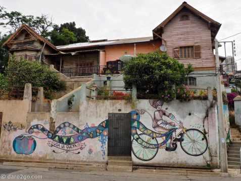 StreetArt: use the bicycle