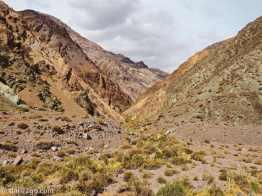 Side valley along the Agua Negra pass