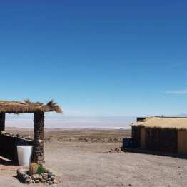 Guesthouse in Socaire, with vista of the Salar de Atacama