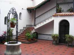 Tucuman: strong Spanish influences in this old courtyard