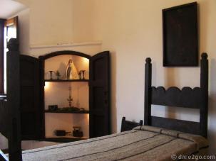 Estancia Alta Gracia: sleeping chamber