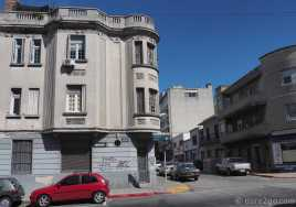 Montevideo: older, less maintained Art-Deco buildings in outer suburbs.