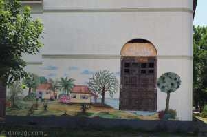 Rural scene on a corner of Ramon Alvarez in Villa 25 de Agosto