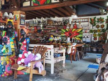 A look into one of the many tourist shops in Paraty.
