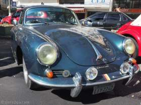 A classic Porsche 356 with hardtop roof. I believe this is the B model - rare everywhere!