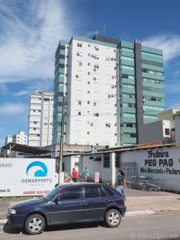 A new residential tower in Torres: only the white part is not tiled!