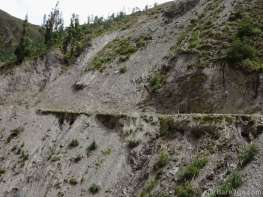 You sometimes don't really want to know what the edge of the road looks like - best to simply stay away from it!