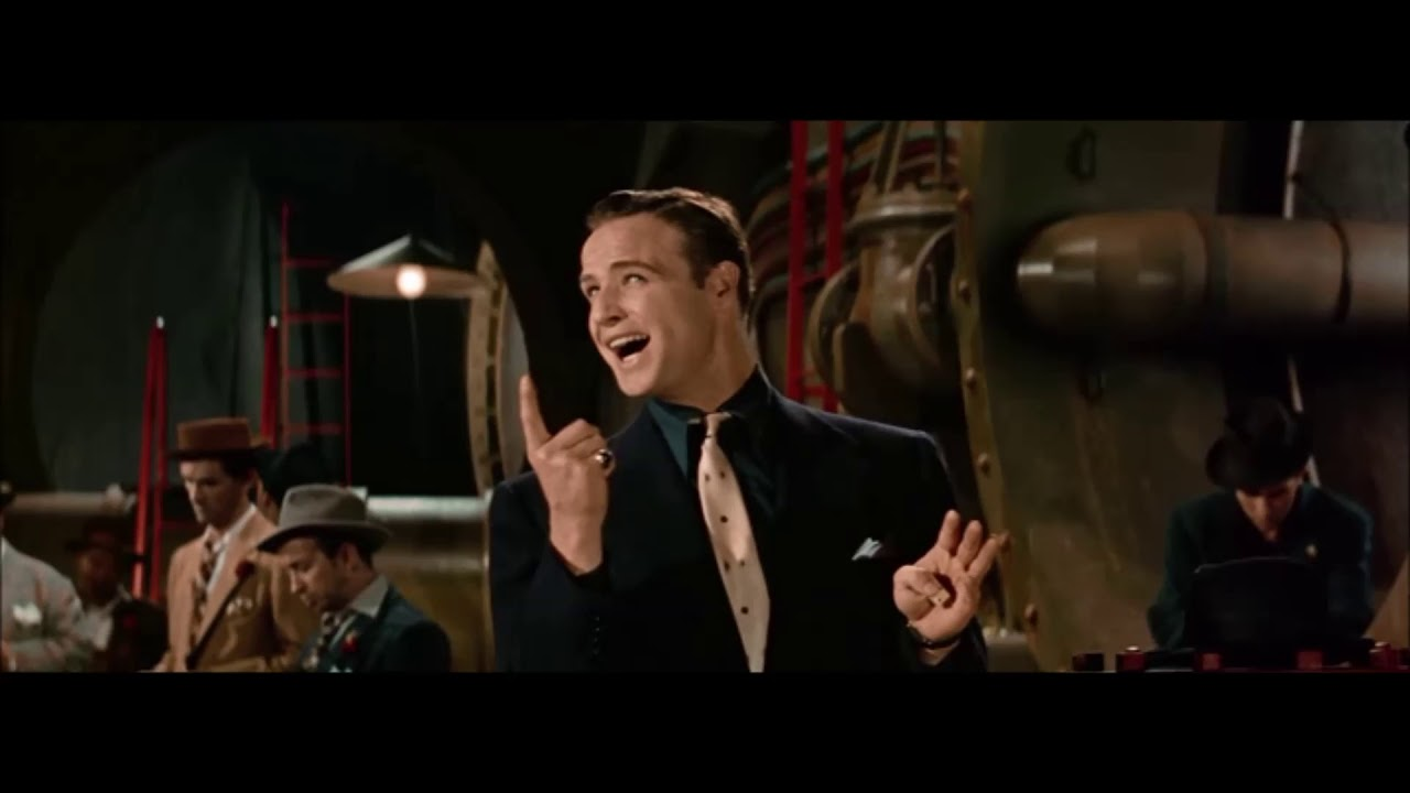 Guys and Dolls Marlon Brando