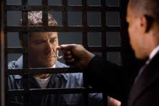 Gerard Butler and Jamie Foxx in Law Abiding Citizen