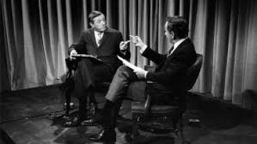 Gore Vidal and William F. Buckley in Best of Enemies