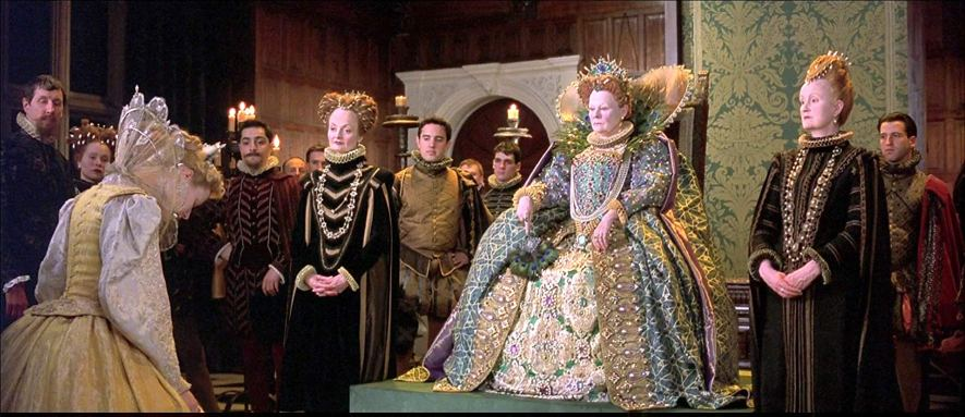 Gwyneth Paltrow and Judi Dench in Shakespeare in Love