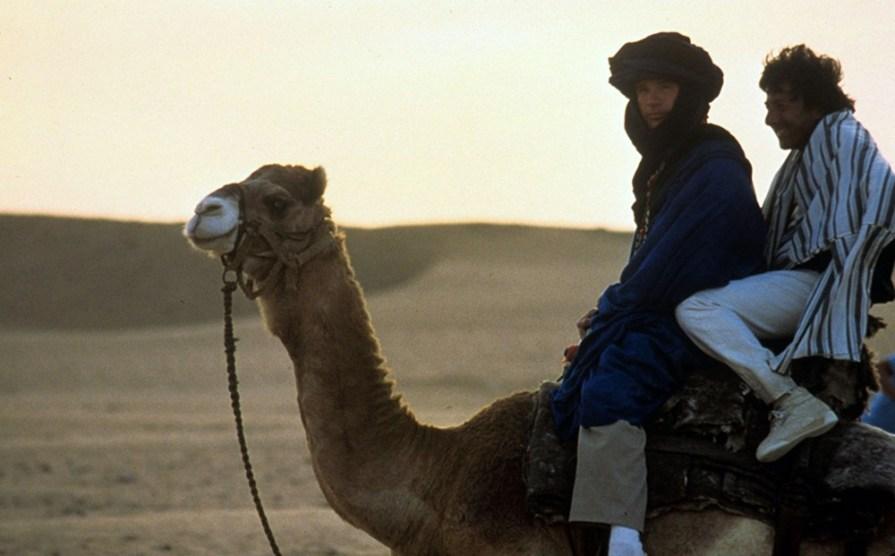 Warren Beatty and Dustin Hoffman in Ishtar