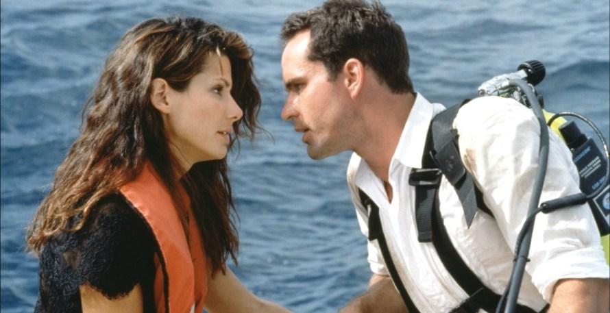 Sandra Bullock and Jason Patric in Speed 2 Cruise Control
