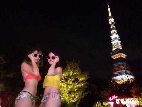 ビキニ×東京タワーの写真が撮れるのは今日がラスト!水着スナップ