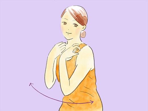 【部分痩せ】楽に早くくびれをつくるなら!「ひねる」エクササイズ2パターン