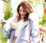 冬コーデに映える♡水色コートスタイルのおすすめ4選