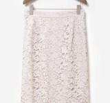 【明日なに着る?】微光沢とヴィンテージ感がツボ♡こだわりレースの万能スカート