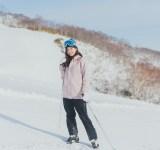 【スキーウエアSNAP】ダスティピンクは品よくまとめて大人っぽく♡