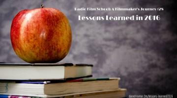 Radio Film School Lessons Learned in 2016 [RFS-FJ28]