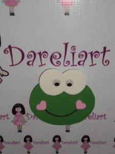 Aplique Sapinho 8x7 - Dareliart