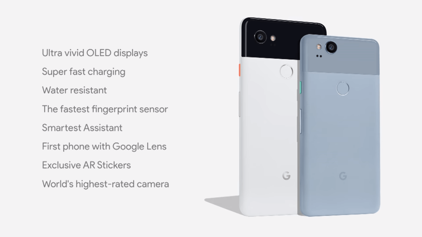 Pixel 2017 Devices Specifications